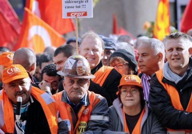 Chômage partiel sur les sites français