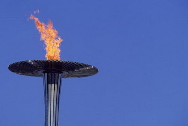 Première flamme olympique