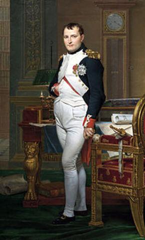 Napoleon restores French Monarchy