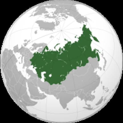 Soviet Union dissolved