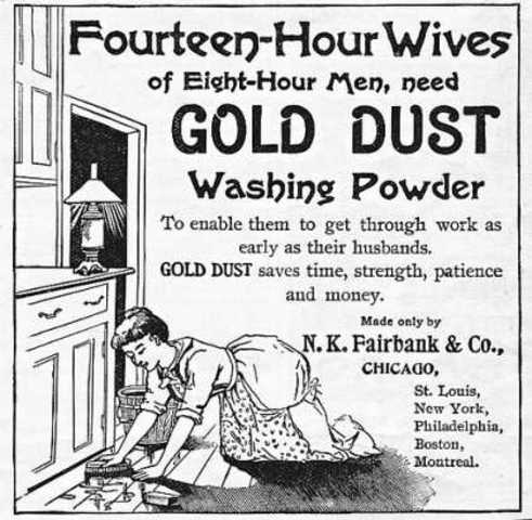 Gold Dust Cleaning ad