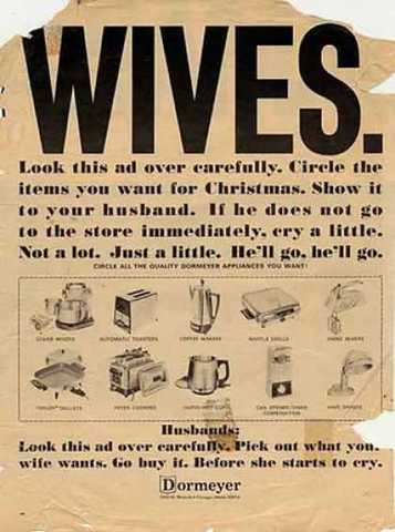 Circle for you're husband ad