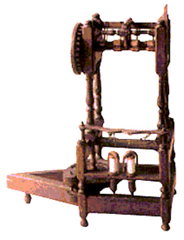 Spinning Jenny Invented