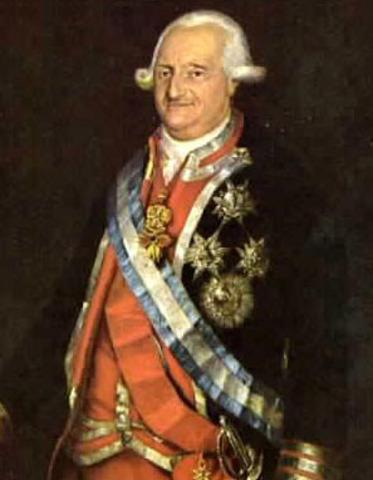 Carlos IV accede al trono