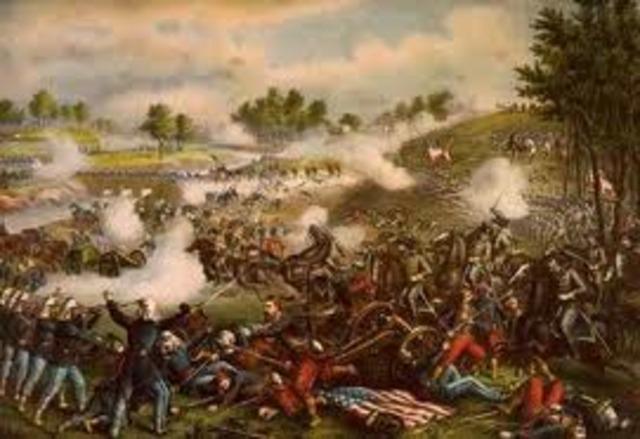 Promotion and Battle of 1st Manassas