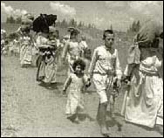 al-Nakba/Establishment of Israel
