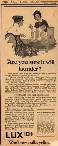 1910's laundry ad