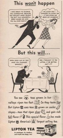 1920's Wife must make good teea