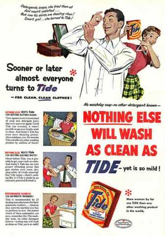 1940's Laudry ad