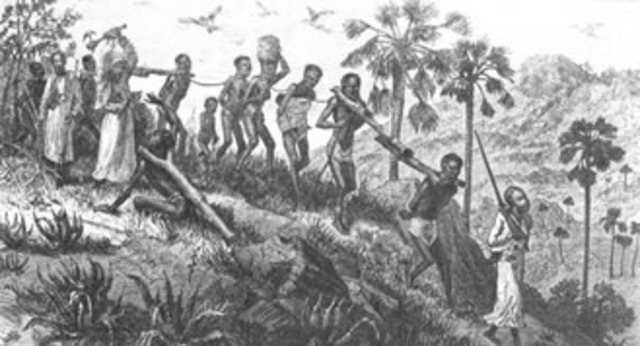 First Slaves are brought to Virginia
