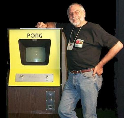 Atari's founder, Nolan Bushnell invented the first popular arcade video game widely recognised as Pong