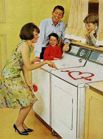 Hearts=washing machine
