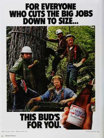 1970's Logger's are mannly