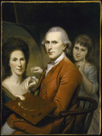 Charles Willson Peale Born