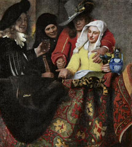 Vermeer born