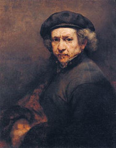 Rembrandt Van Rijin born