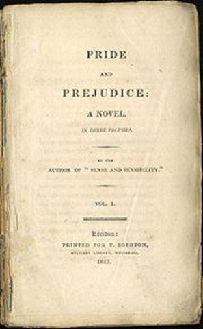 Pride and Predjudice published