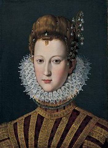 Henry IV y Marie de Médicis y los hijos