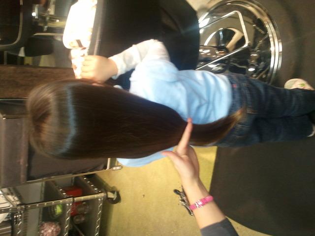 Alena's First Hair Cut