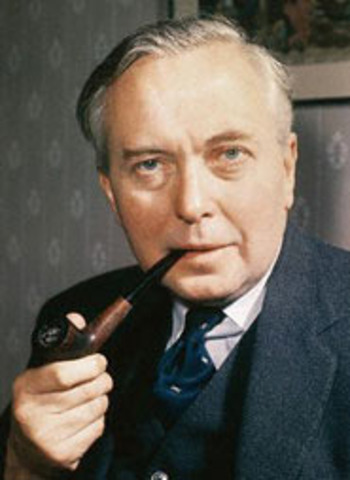 Harold Wilson elected Prime Minister of England