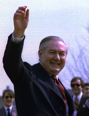James Callaghan elected Prime Minister of England