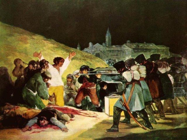 Madrid se alza contra las tropas francesas
