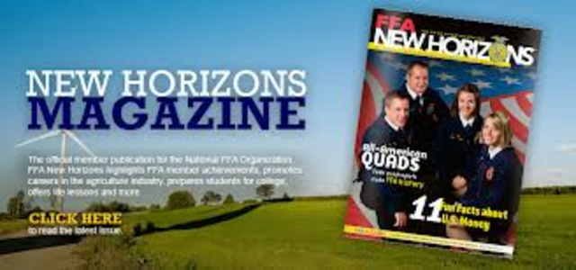 The National Future Farmer magazine's name was change