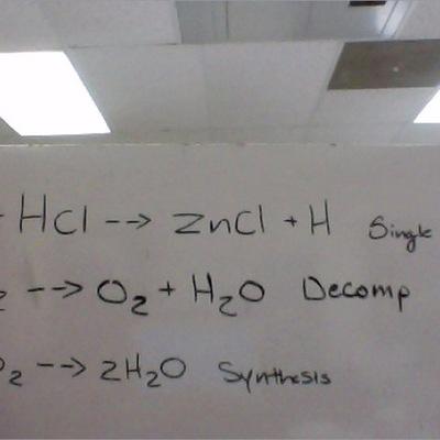 Balanced Equations timeline