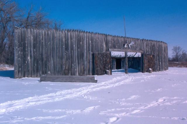Winter Among the Mandan