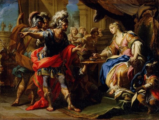Octavian defeats Antony and Cleopatra