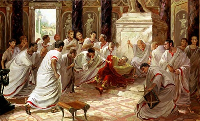Death of Julius Ceaser