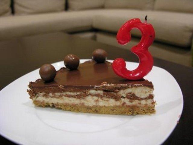 Mi tercer cumpleaños.