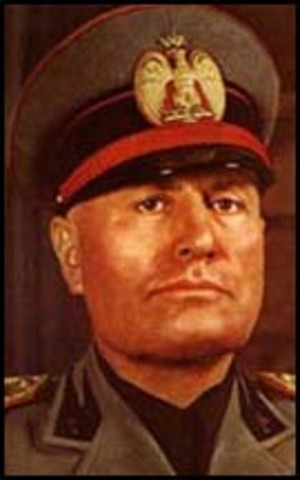 Benito Mussolini became dictator of Italy