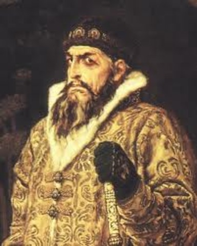 Ivan crowned as first Russian Czar.