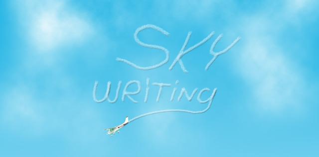 First Sky Writing Display
