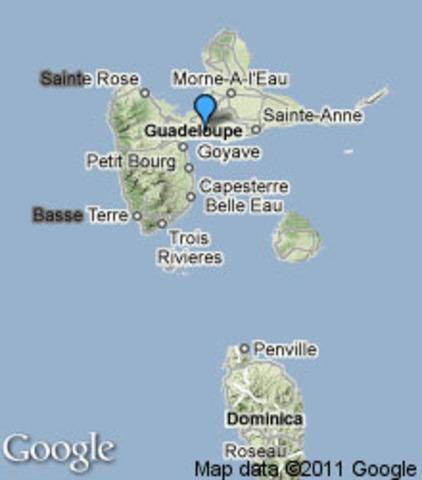 Guadeloupe Rainfall