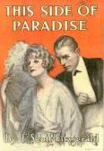 Publication of This Side of Paradise and week later marries Zelda
