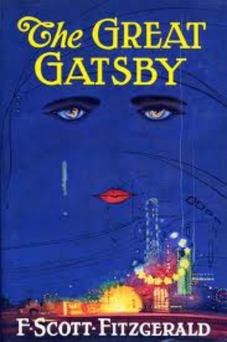 The publication of the Great Gatsby