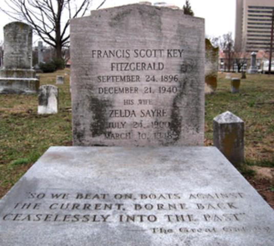 Death of F. Scott Fitzgerald