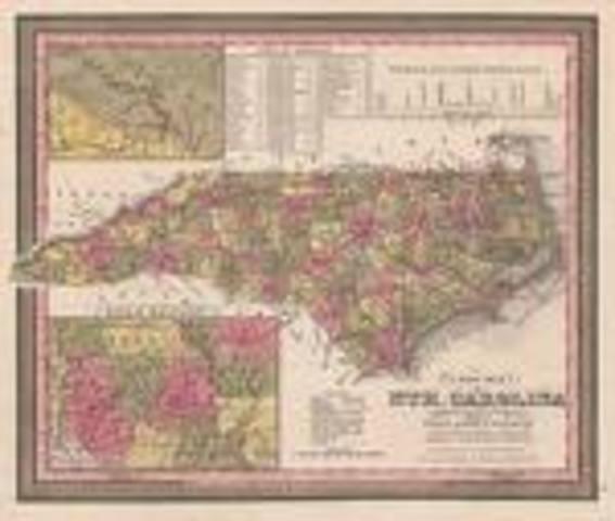 North Carolina Gold Rush starts