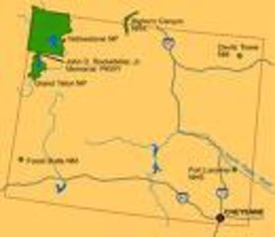 Wyoming Gold Rush starts