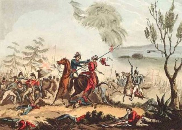 El ejército napoleónico abandona la Península.
