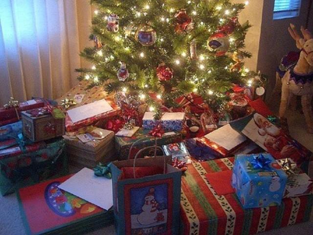 Con tres años celebrando la navidad.