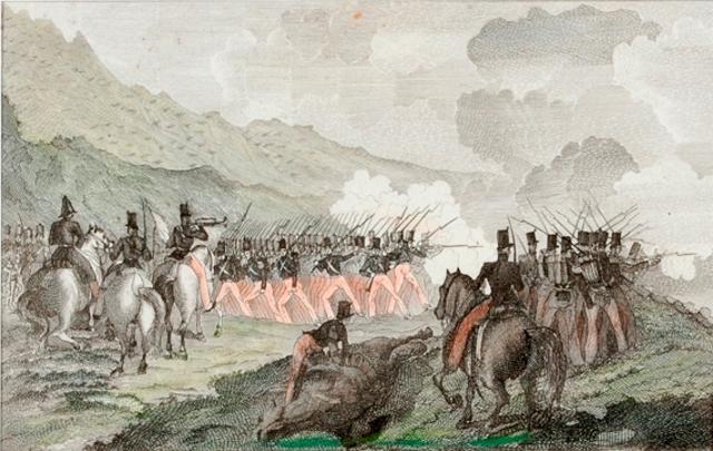 Guerra civil entre isabelinos y carlistas