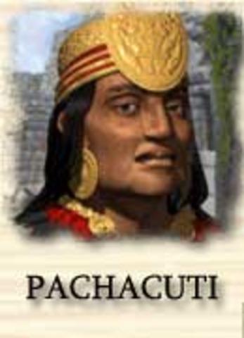 Pachacuti becomes emperor