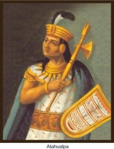 Atahhualpa is murdered by the Spaniards