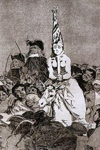 Spanish Inquistion begins
