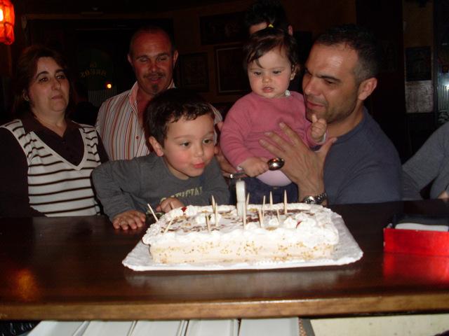 Primer cumpleaños de Elena