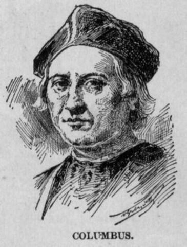 Columbus dies