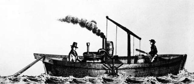 Invention of the Steam Boat